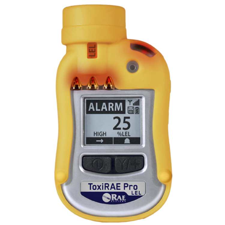 ToxiRAE_Pro_LEL_1_Single_Gas_RAE_Systems_ElectrogasMonitors