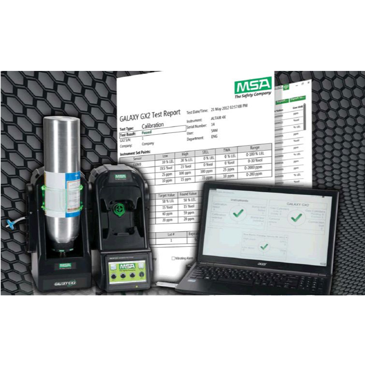 Galaxy_GX2_MSA Link Pro Software_Calibration_Equipment_MSA_Safety_ElectrogasMonitors