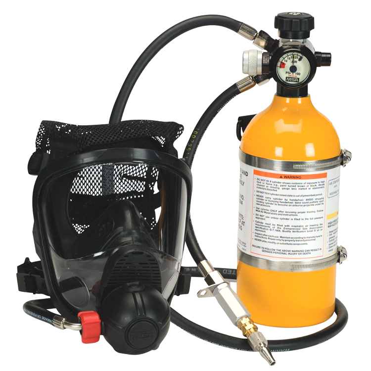 PremAire_Cadet_Escape_Respirator_SCBA_MSA_Safety_Electrogas_Monitors