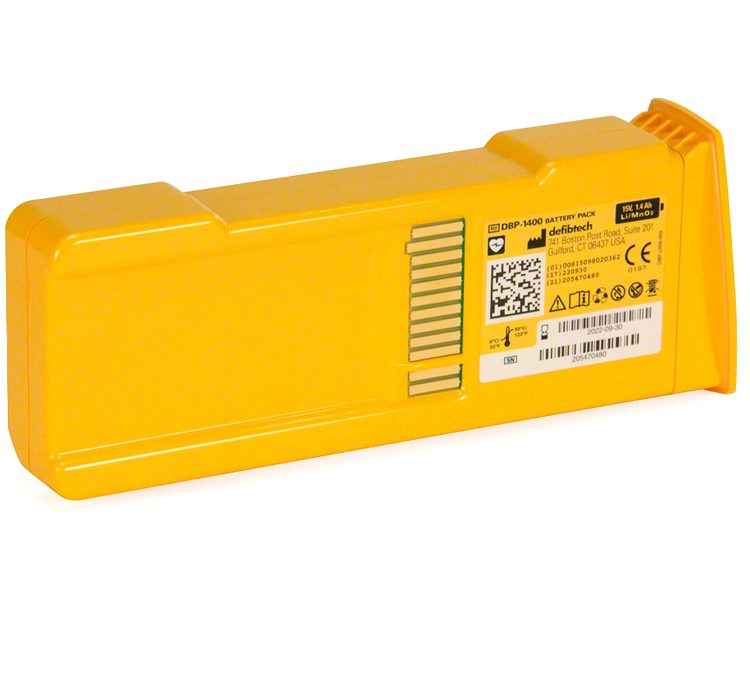 Five-Year AED Replacement Battery Pack DCF-200