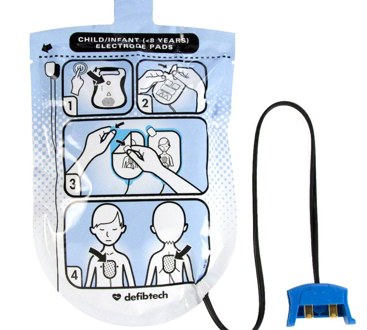 Pediatric Defibrillation Pads Package DDP-200P