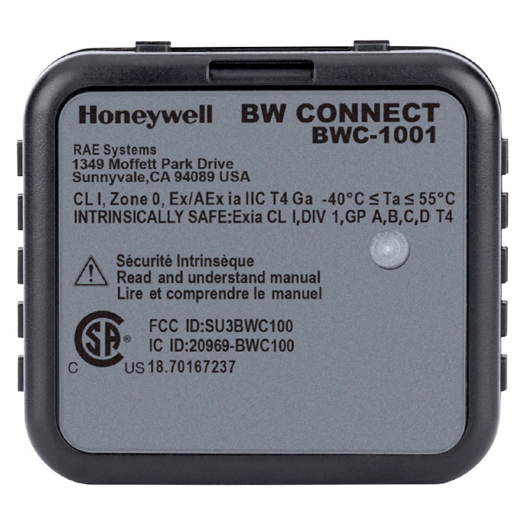 Honeywell_BW_Connect_Real_Time_Gas_Readings_BWTechnologies_ElectrogasMonitors