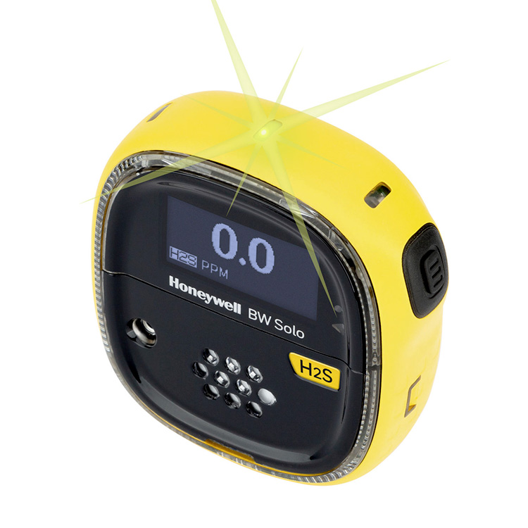 BWSolo_yellow_Single_Gas_Speciality_Detection_BWTechnologies_ElectrogasMonitors