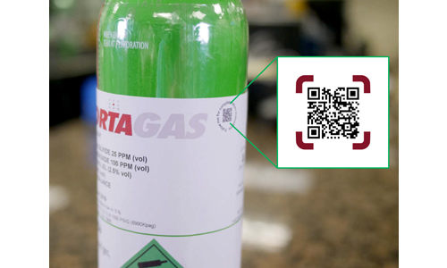 Portagas App - Scan QR Code - Electrogas Monitors Ltd.